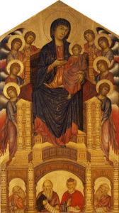 聖母と天使たち 1270頃 ルーヴル美術館