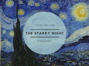 ゴッホの作品「星月夜」の見方の3つのポイントを解説!~夜空からのメッセージ~