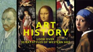 ゼロから分かる西洋美術史入門!30の美術様式について3Pで読み解きます!